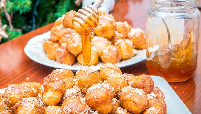 Loukoumades, Cyprus sweets - Global Storybook