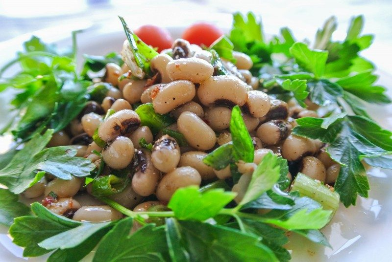 Louvi black-eyed beans, Cyprus national dish - Global Storybook