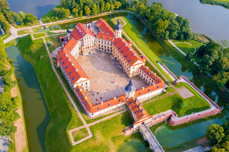 Medieval castle in Nesvizh, Minsk Region, Belarus - Global Storybook