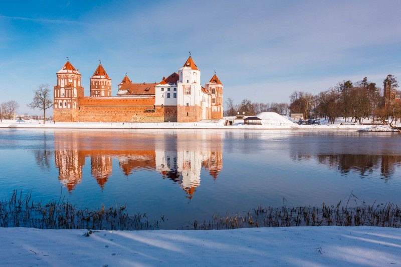 Mir Castle in Minsk, Belarus - Global Storybook