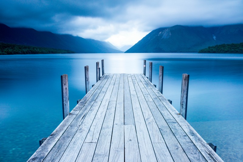 Rotoiti Lake - Nelson Lakes National Park, New Zealand - Global Storybook