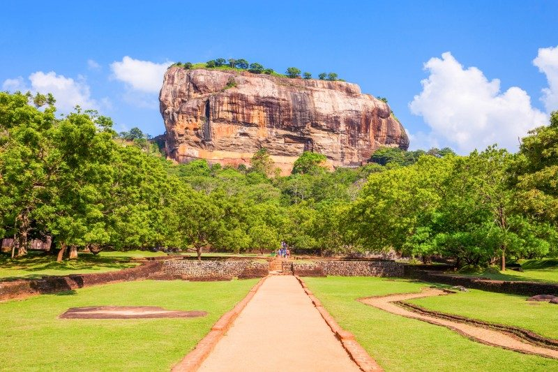 Sigiriya Rock or Lion Rock is an ancient fortress, Dambulla, Sri Lanka - Global Storybook