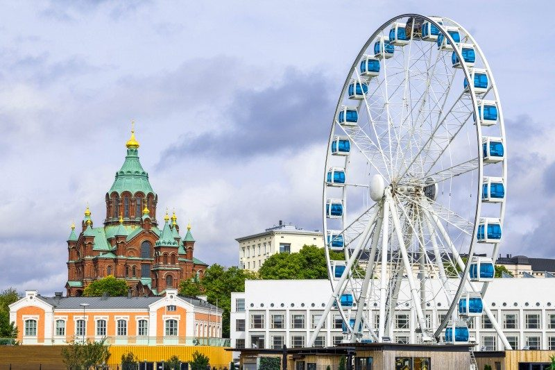 SkyWheel Helsinki, Finland - Global Storybook