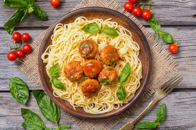 Spaghetti with meatballs - Global Storybook