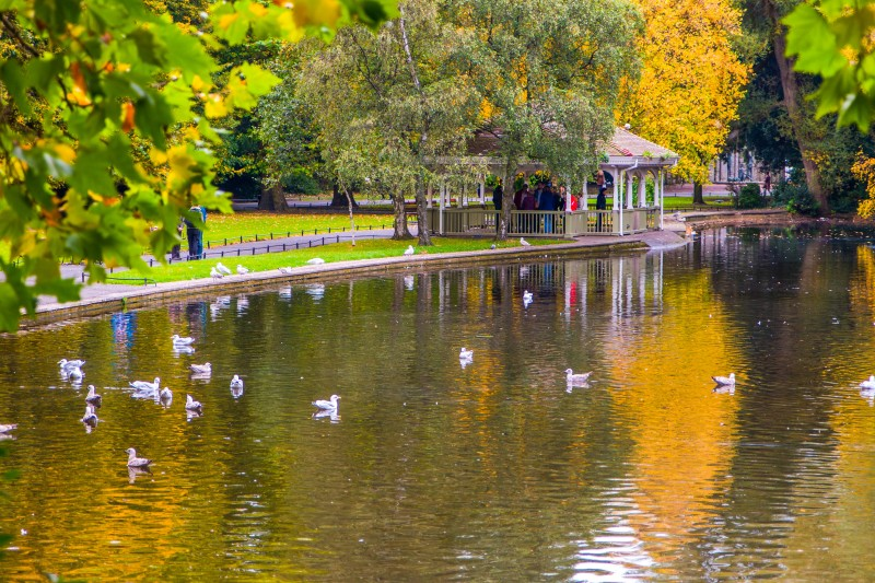 St Stephen's Green, Dublin, Ireland - Global Storybook