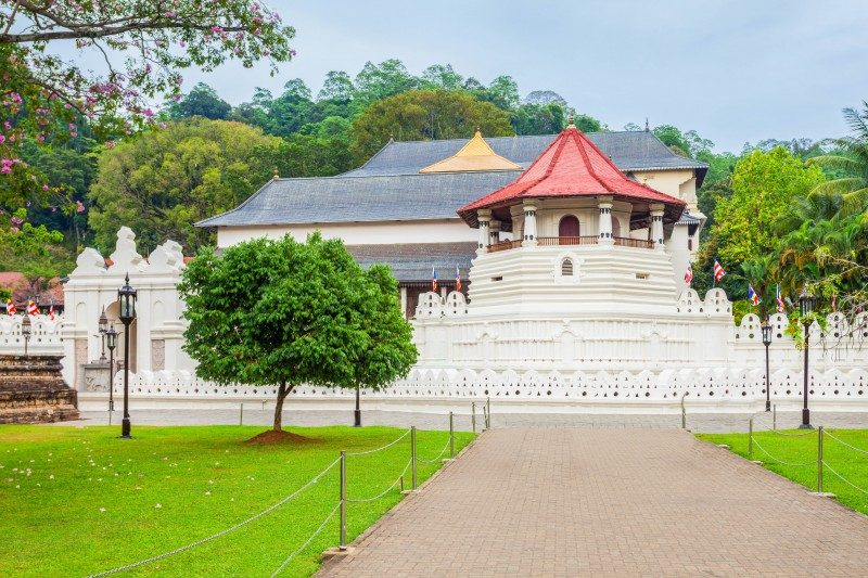 Temple of the Sacred Tooth Relic or Sri Dalada Maligawa, Kandy, Sri Lanka - Global Storybook