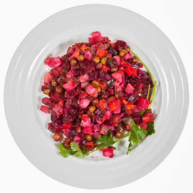 Vinegret - Traditional Russian Beetroot Salad Recipe - Global Storybook
