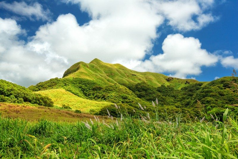 lush green hills of Mount Schroeder, Guam - Global Storybook