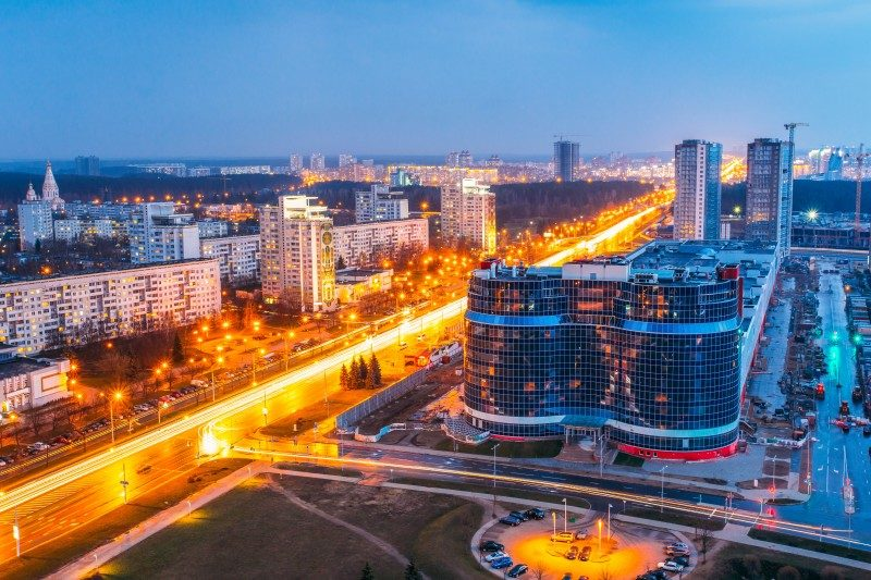 the Independence Avenue, Minsk, Belarus - Global Storybook