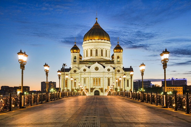 Cathedral of Christ the Savior, Moscow, Russia - Global Storybook