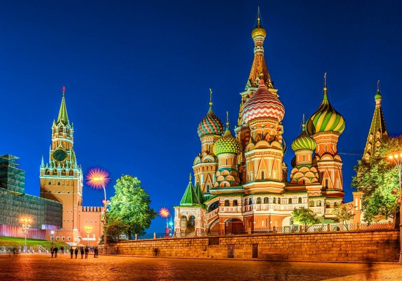 Moscow - The Top 20 Attractions