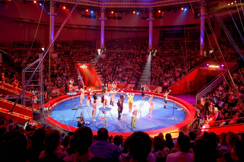 Nikulin Moscow Circus on Tsvetnoi Bulvar, Moscow, Russia - Global Storybook