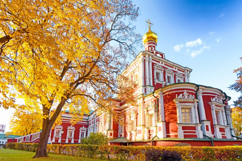 Novodevichy Convent, Moscow, Russia - Global Storybook