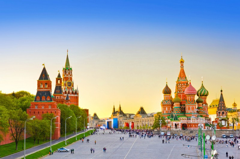 Red Square, Moscow, Russia - Global Storybook