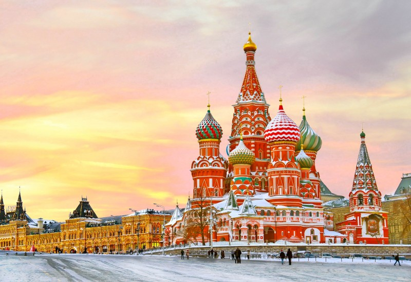 Saint Basil's Cathedral, Moscow, Russia - Global Storybook