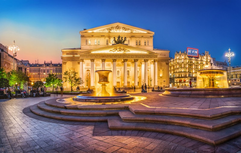 The Bolshoi Theatre, Moscow, Russia - Global Storybook