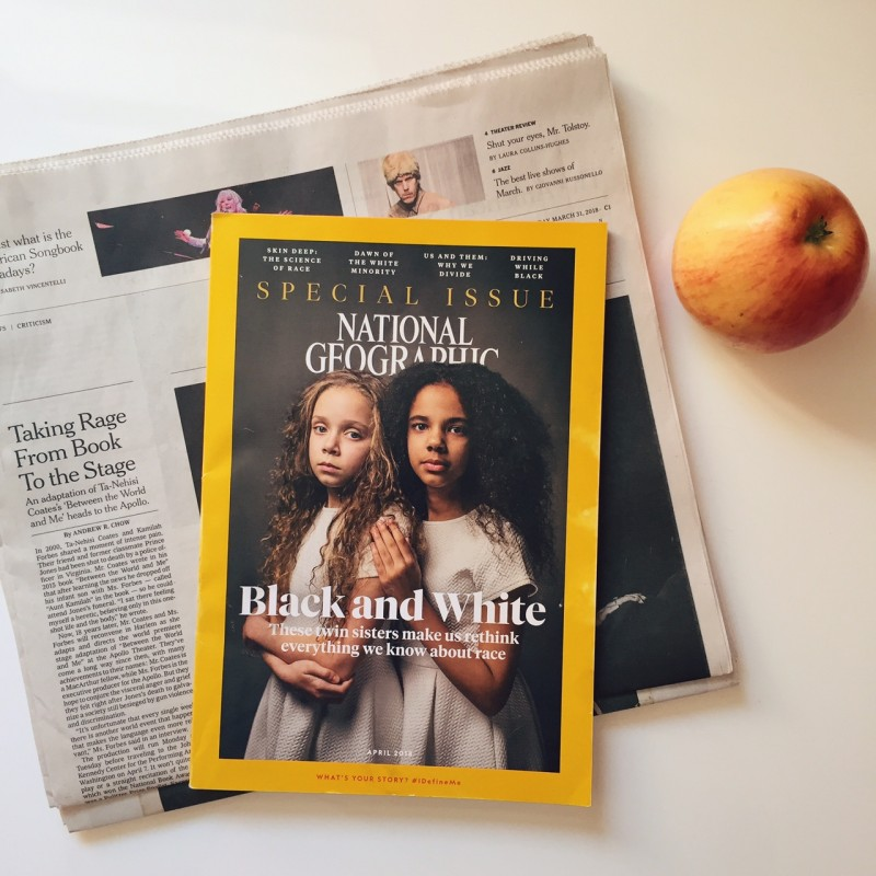 NatGeo -The Race Issue, April 2018