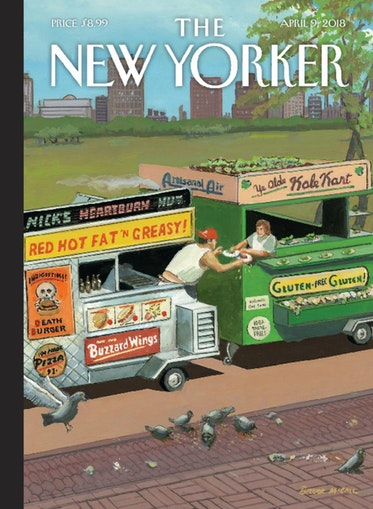 the New Yorker Apr. 9 2018